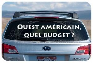 budgetouestamericain