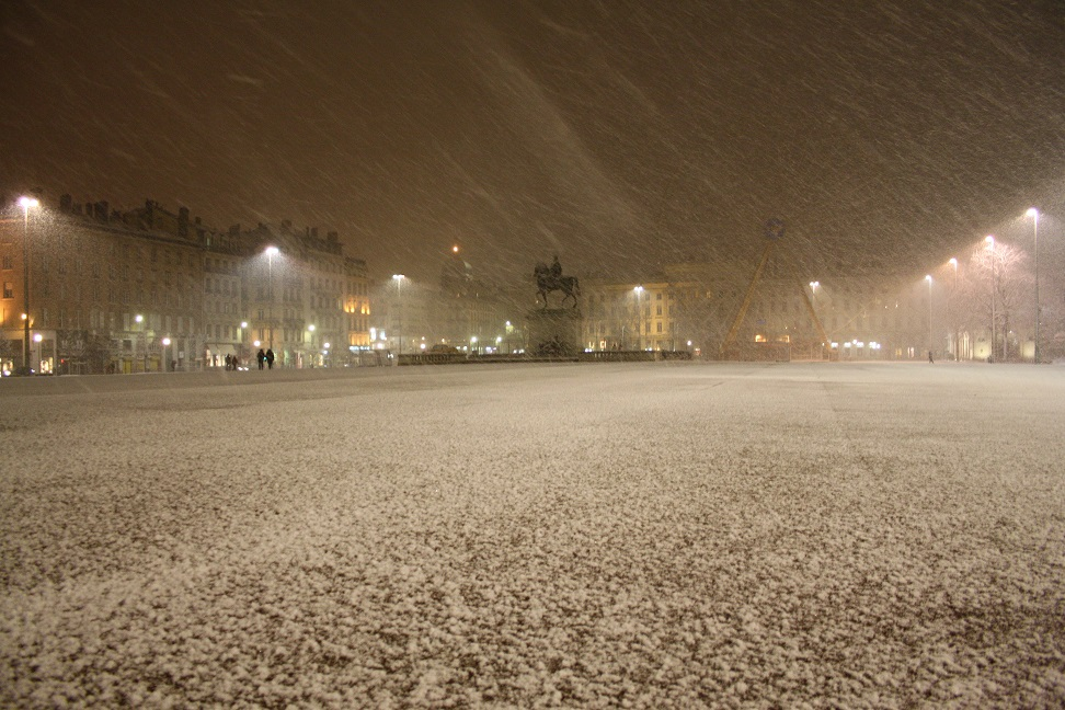 neigebellecour