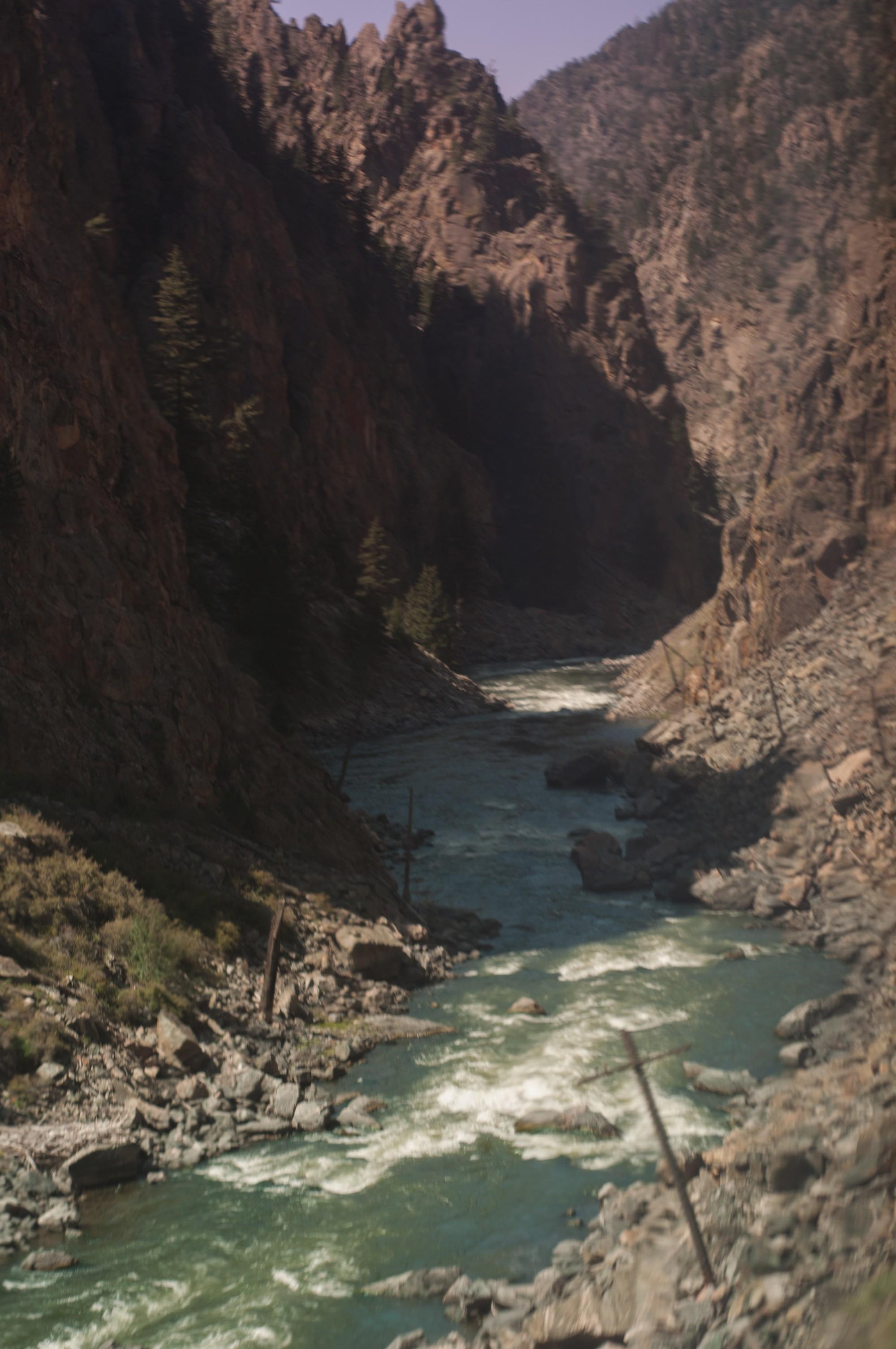 Longer rivières et torrents... C'est le Colorado ?